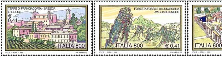 L'Italie par ses timbres